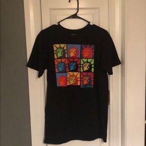 Billabong 100% Organic Cotton Graphic T-Shirt M